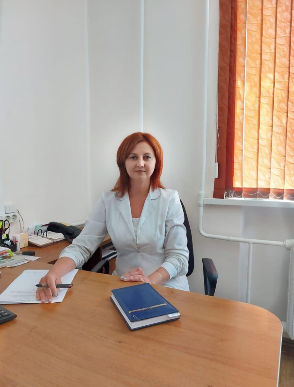 Заместитель главного врача по медицинской части Жупикова Наталья Владимировна