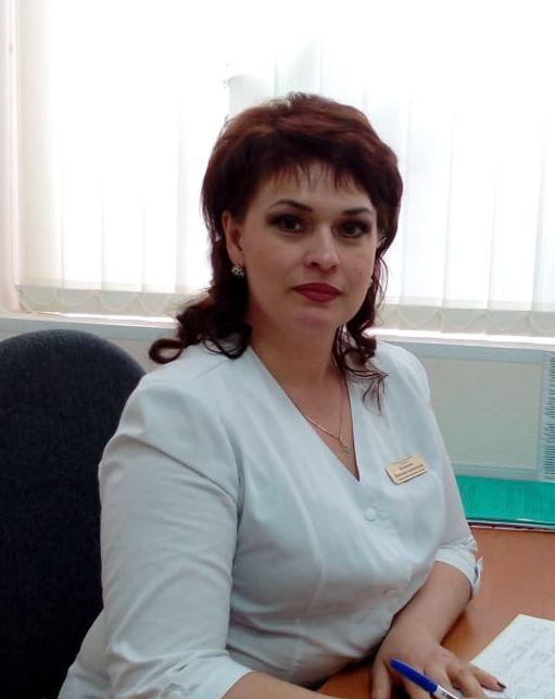 Старшая медицинская сестра 2-го детского поликлинического отделения Беликова Наталия Алексеевна