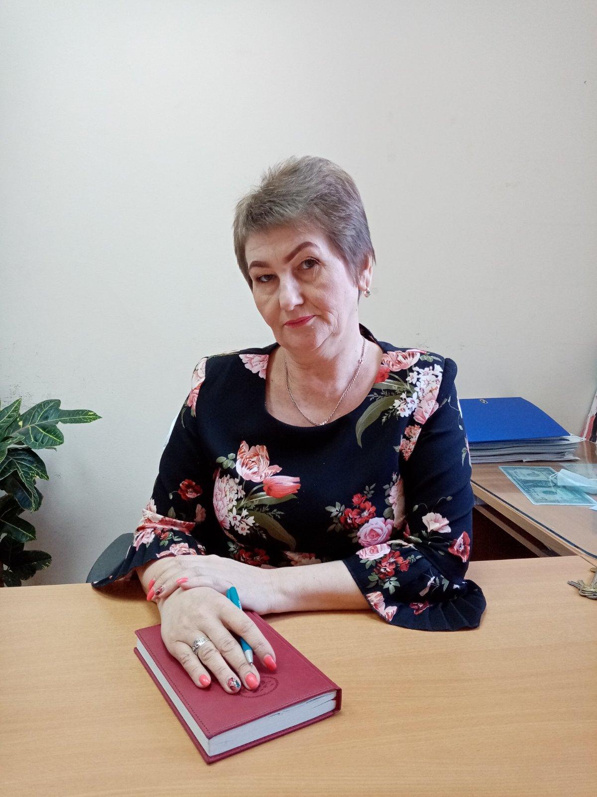 Начальник хозяйственного отдела Глущенко Алина Валентиновна