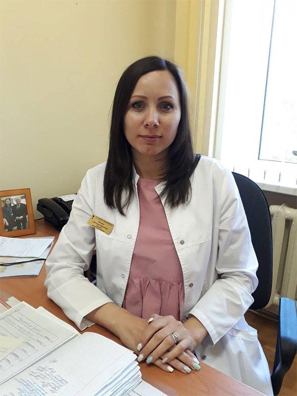 Заведующий 2-м детским поликлиническим отделением Беляева Светлана Павловна
