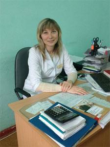 Старшая медицинская сестра 1-го детского поликлинического отделения Фетисова Светлана Сергеевна