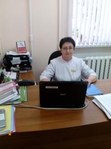 Заместитель главного врача по медицинской части Куватова Татьяна Николаевна